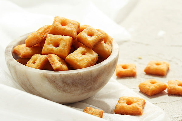 Whole Grain Cheese Crackers – included in the Acme Whole Grain Bakery Box