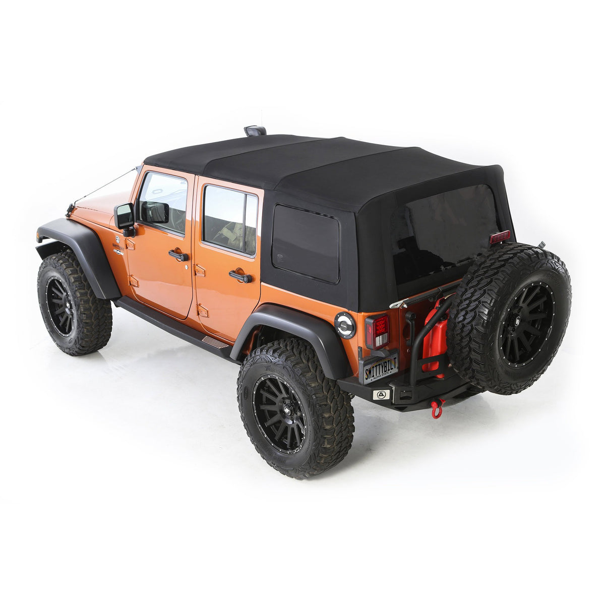 Smittybilt Premium Replacement Canvas Soft Top with Tinted Windows for 07-18 Jeep Wrangler Unlimited 4 Door