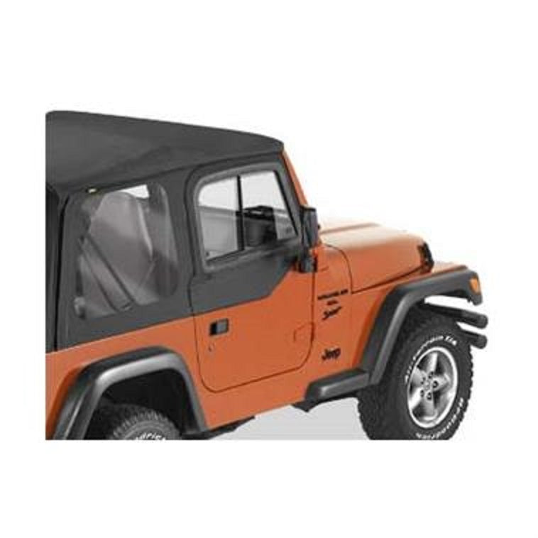 Bestop Upper Door Sliders for Factory Lower Half Doors - TJ