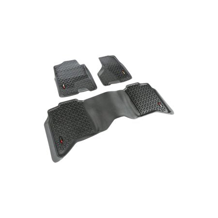 Dodge Ram - Rugged Ridge All Terrain Floor Liner Kit (Black) - 82989.42