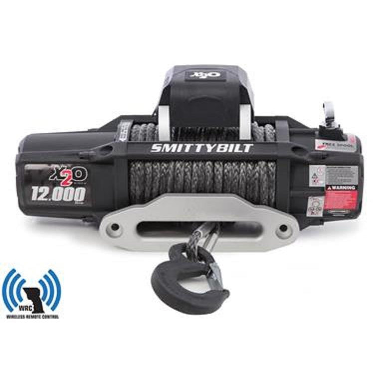 Smittybilt X20-12K WATERPROOF SYN ROPE WINCH GEN2 AND FAIRLEAD