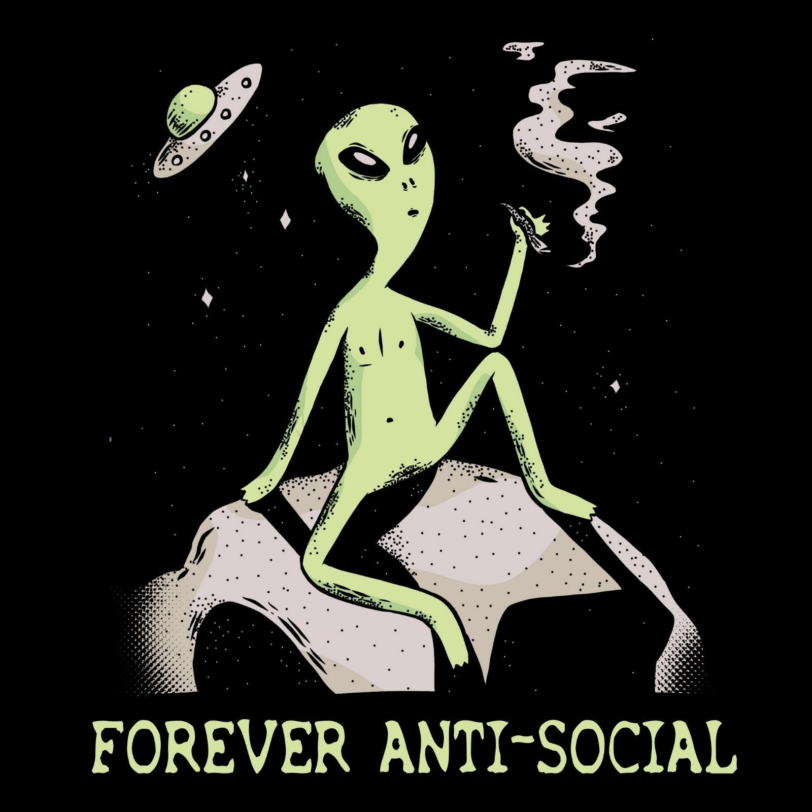 Forever Anti-social - Bastard Graphics