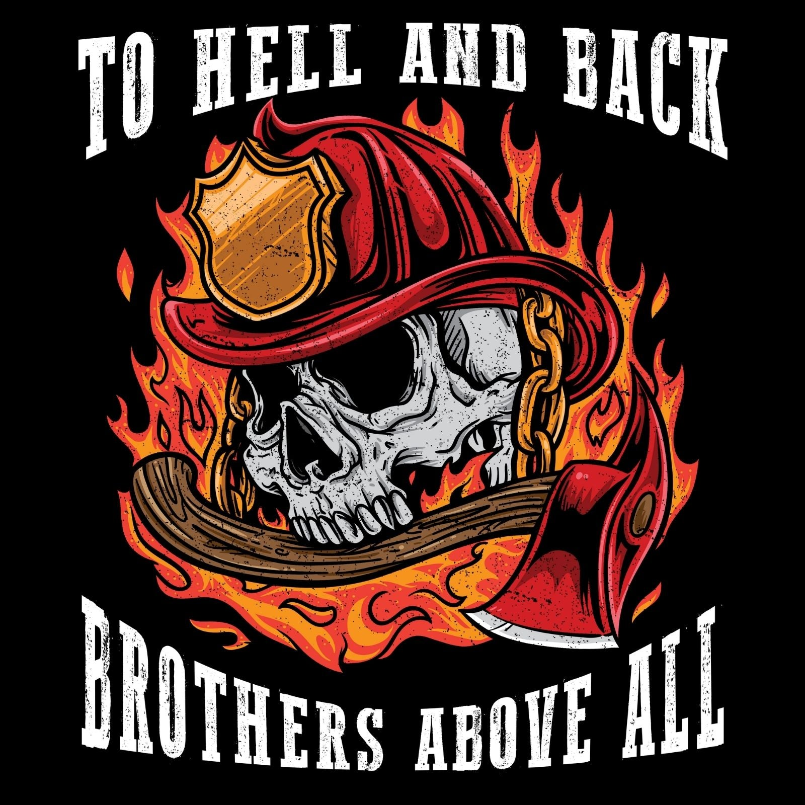 To Hell And Back Brothers Above All - Bastard Graphics