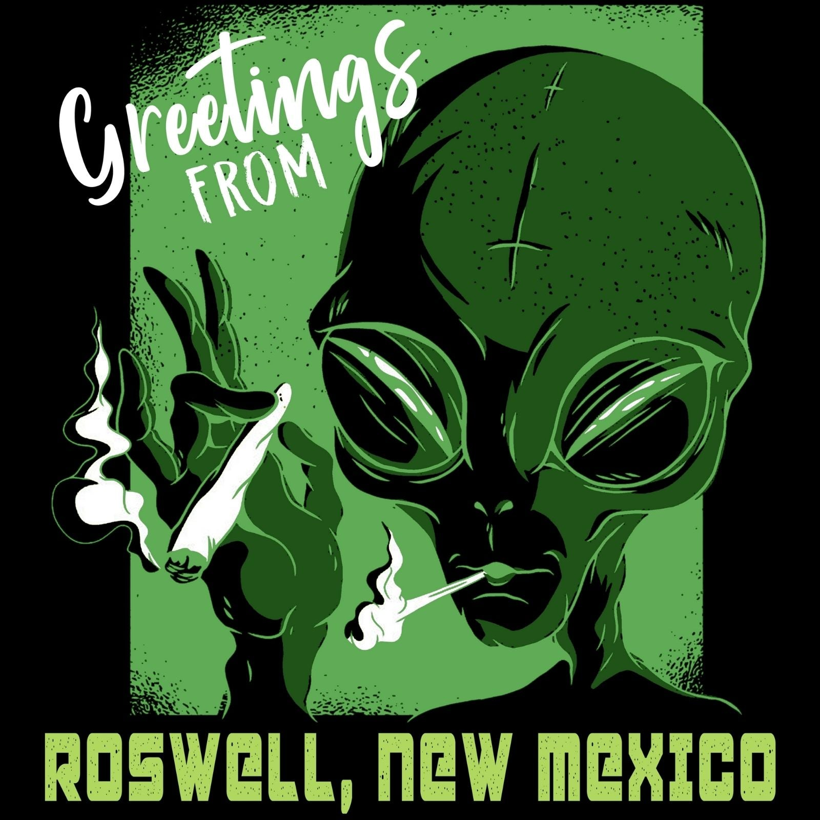 Greetings From Roswell - Bastard Graphics