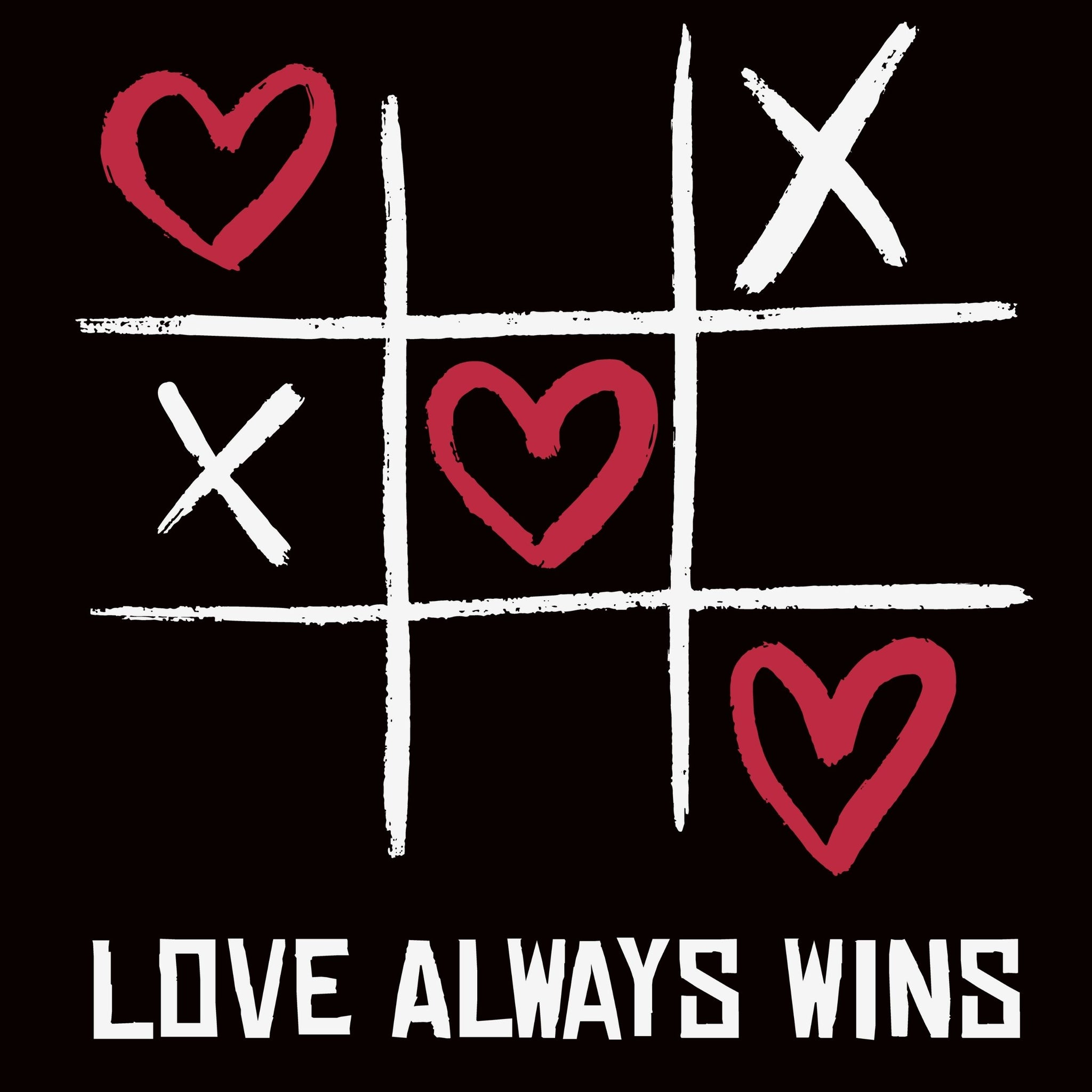 Love Always Wins - Bastard Graphics