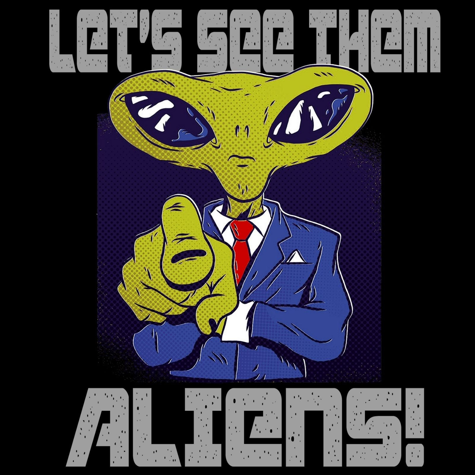 Let's See Them Aliens - Bastard Graphics