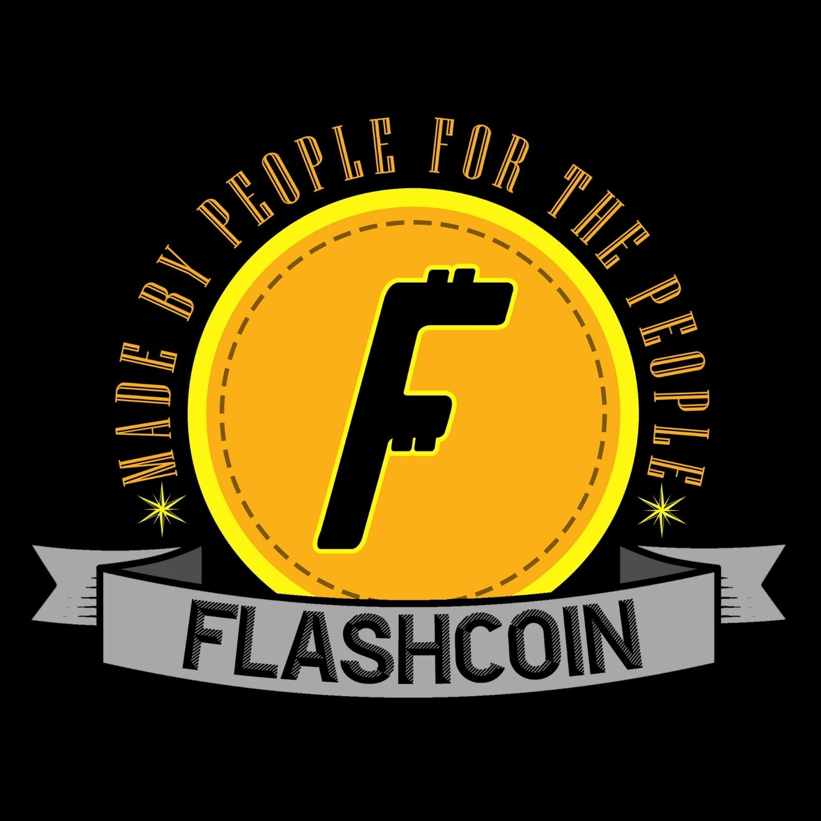 Flashcoin Made By People For The People - Bastard Graphics