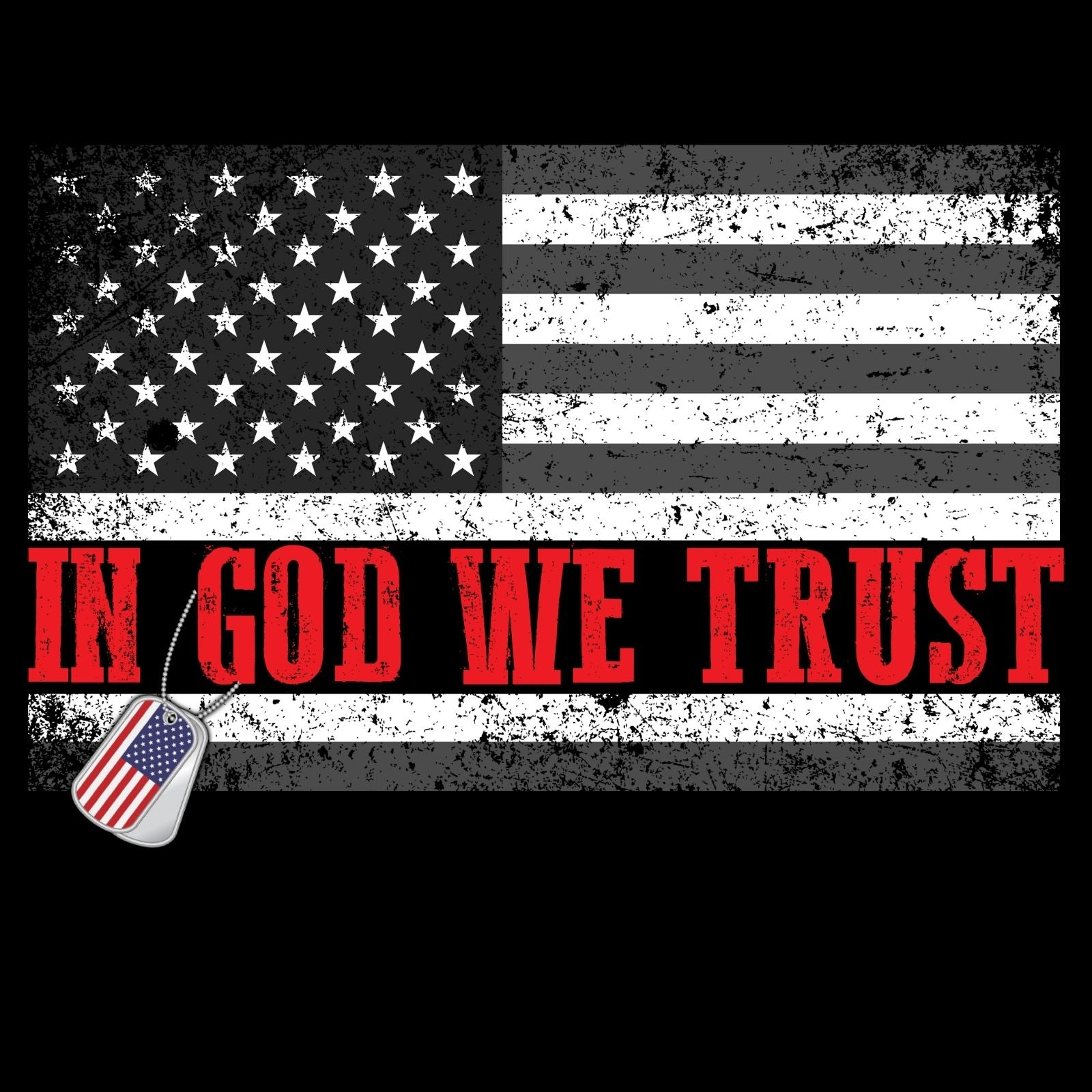 In God We Trust - Bastard Graphics