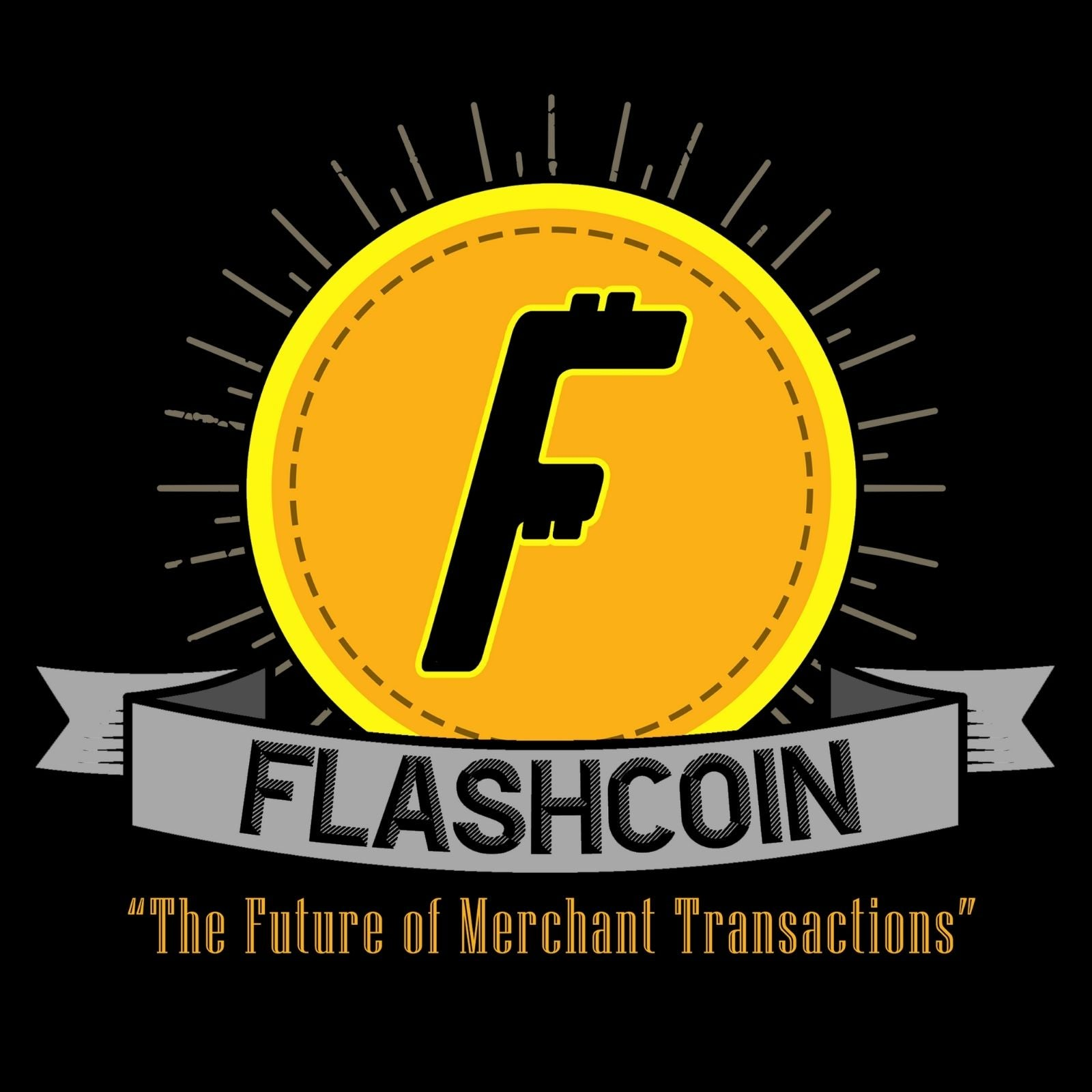 "Flashcoin ""The Future Of Merchant Transactions"" - Bastard Graphics"