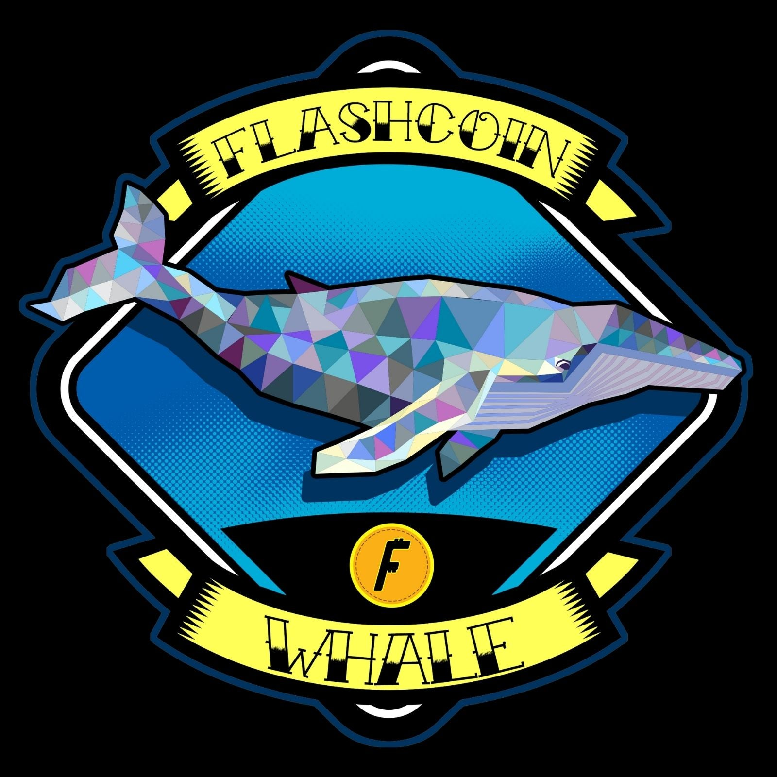 Flashcoin Whale - Bastard Graphics