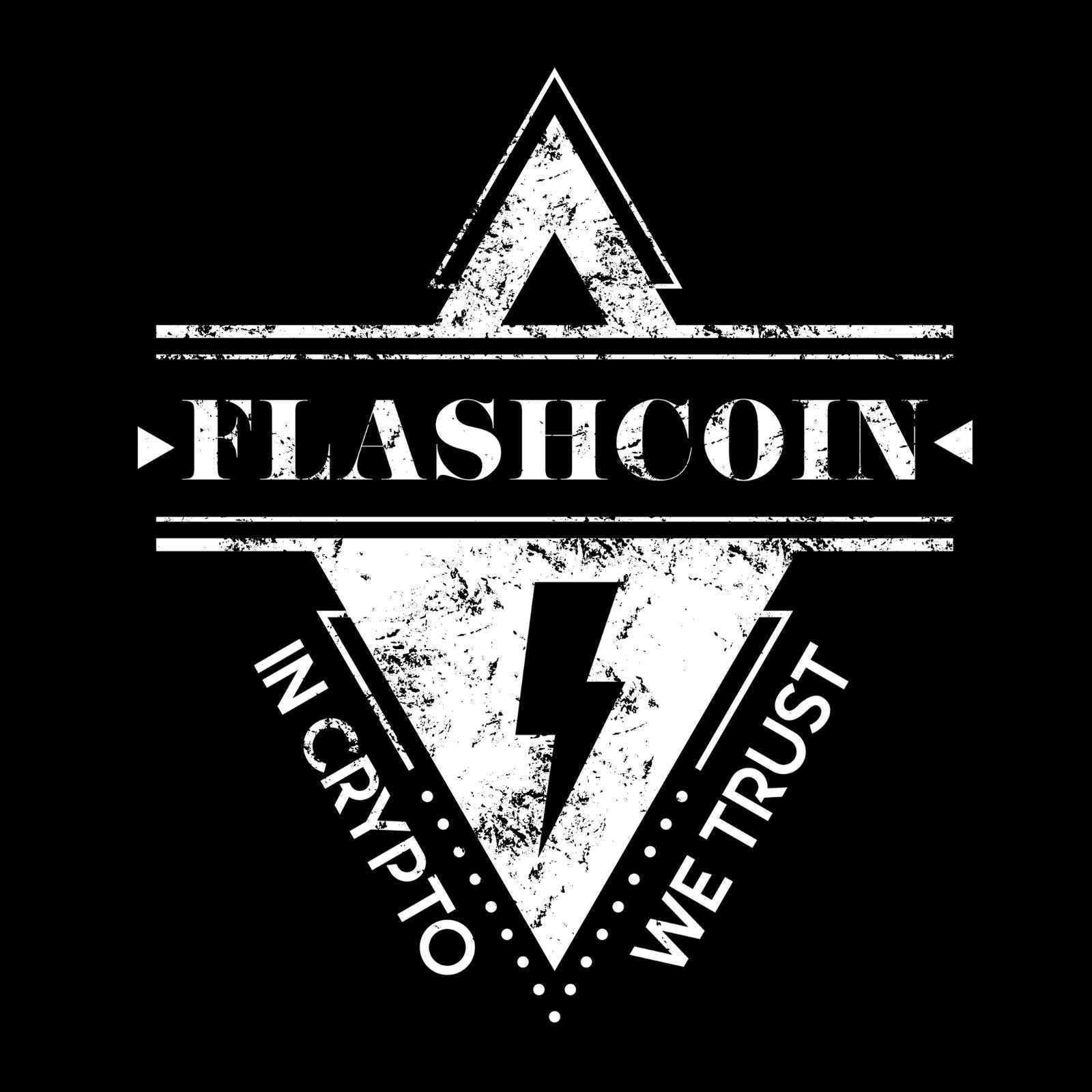 Flashcoin In Crypto We Trust - Bastard Graphics