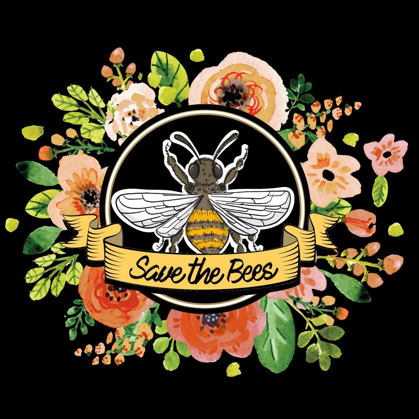 Save The Bees - Bastard Graphics