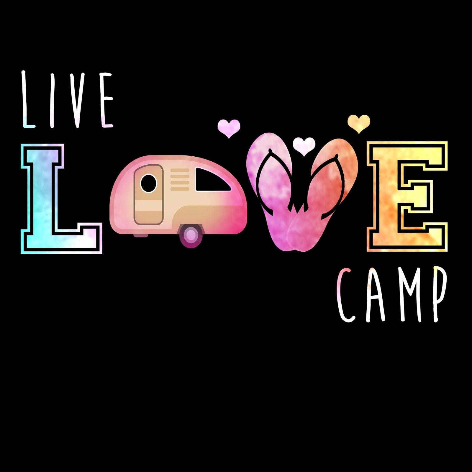 LIVE LOVE CAMP - Bastard Graphics