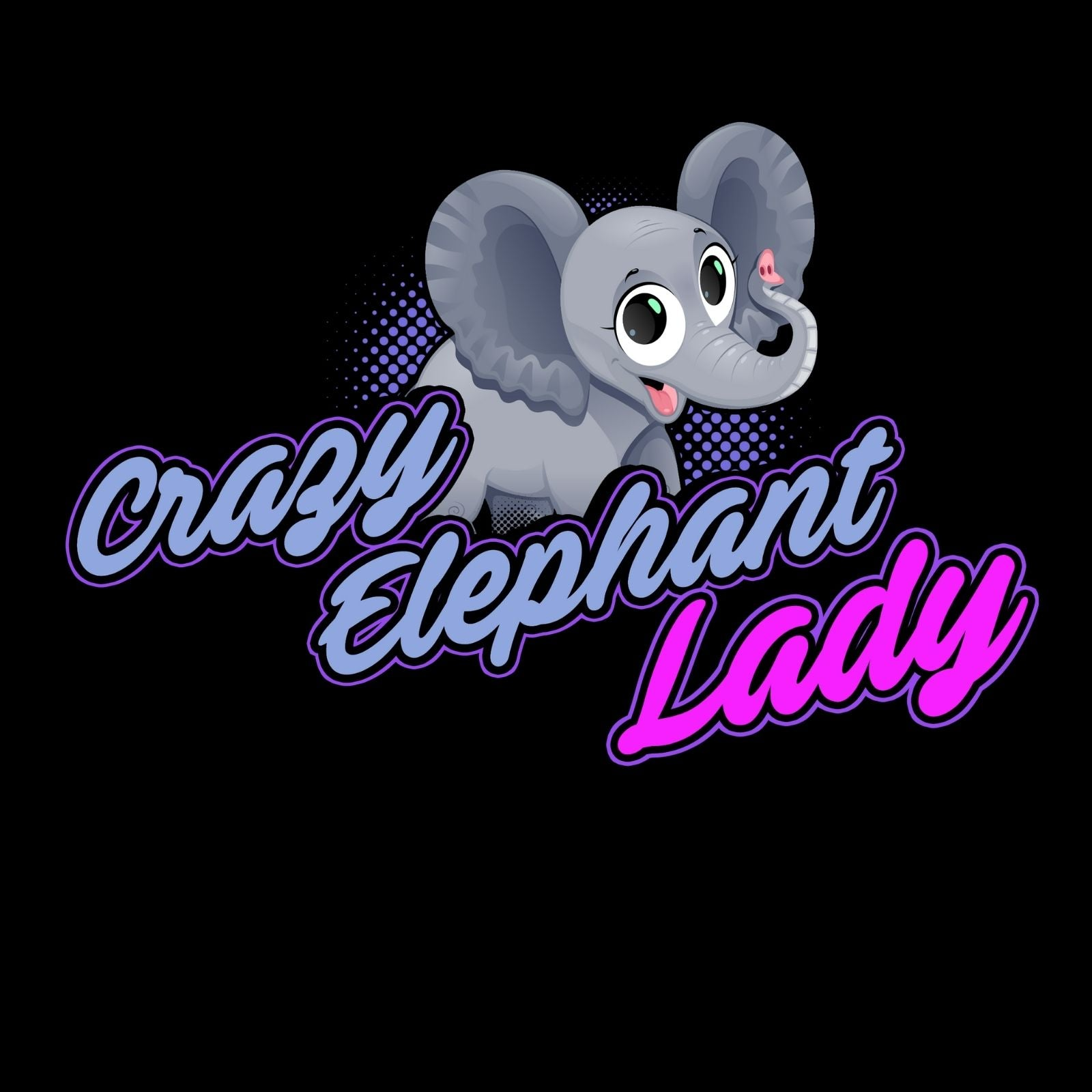 Crazy Elephant Lady - Bastard Graphics