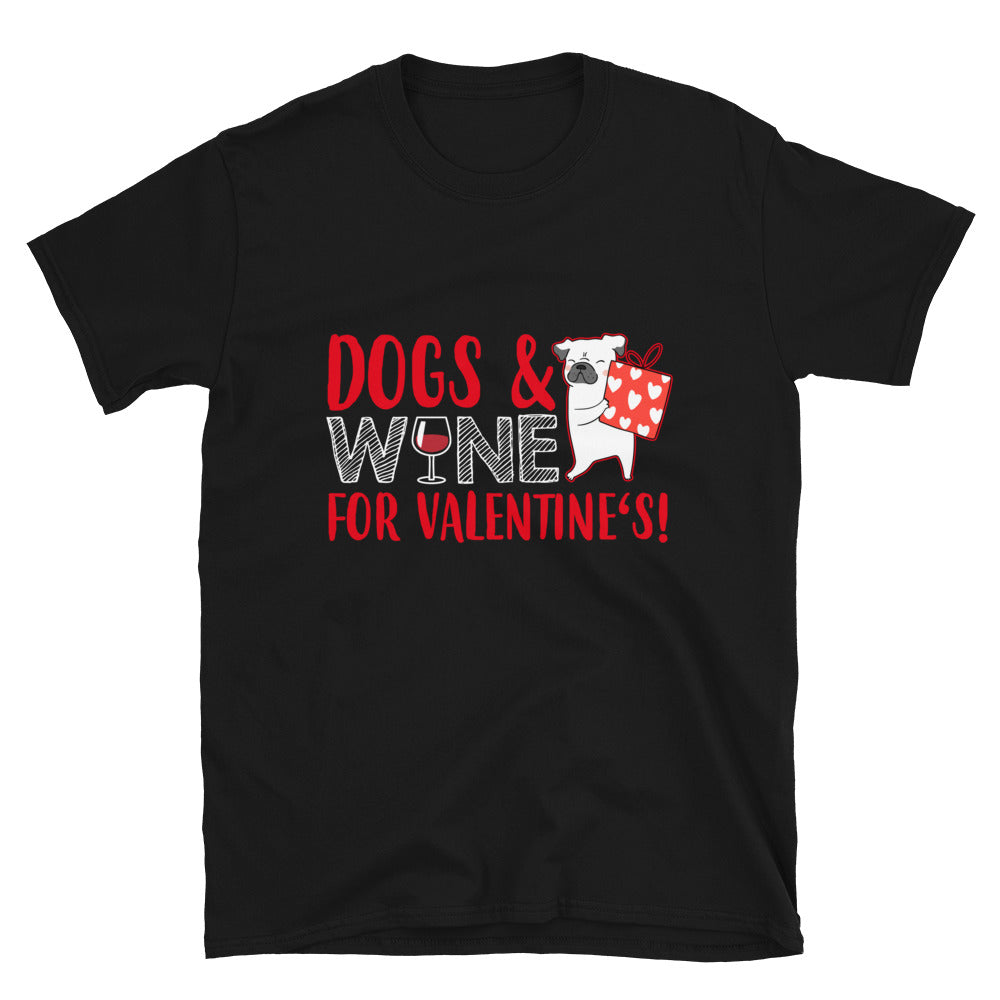 Dogs & Wine For Valentine's ! - Bastard Graphics