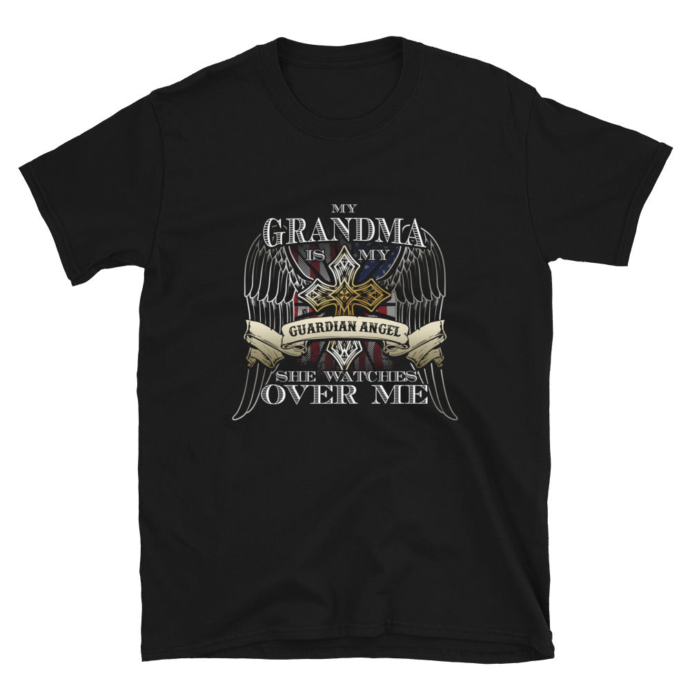 My Grandma Is My Guardian Angel She Watches Over Me - Bastard Graphics