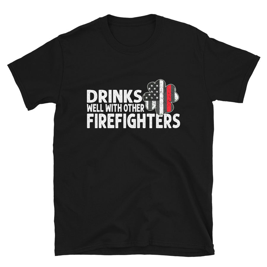 Drinks Well With Other Firefighters - Bastard Graphics