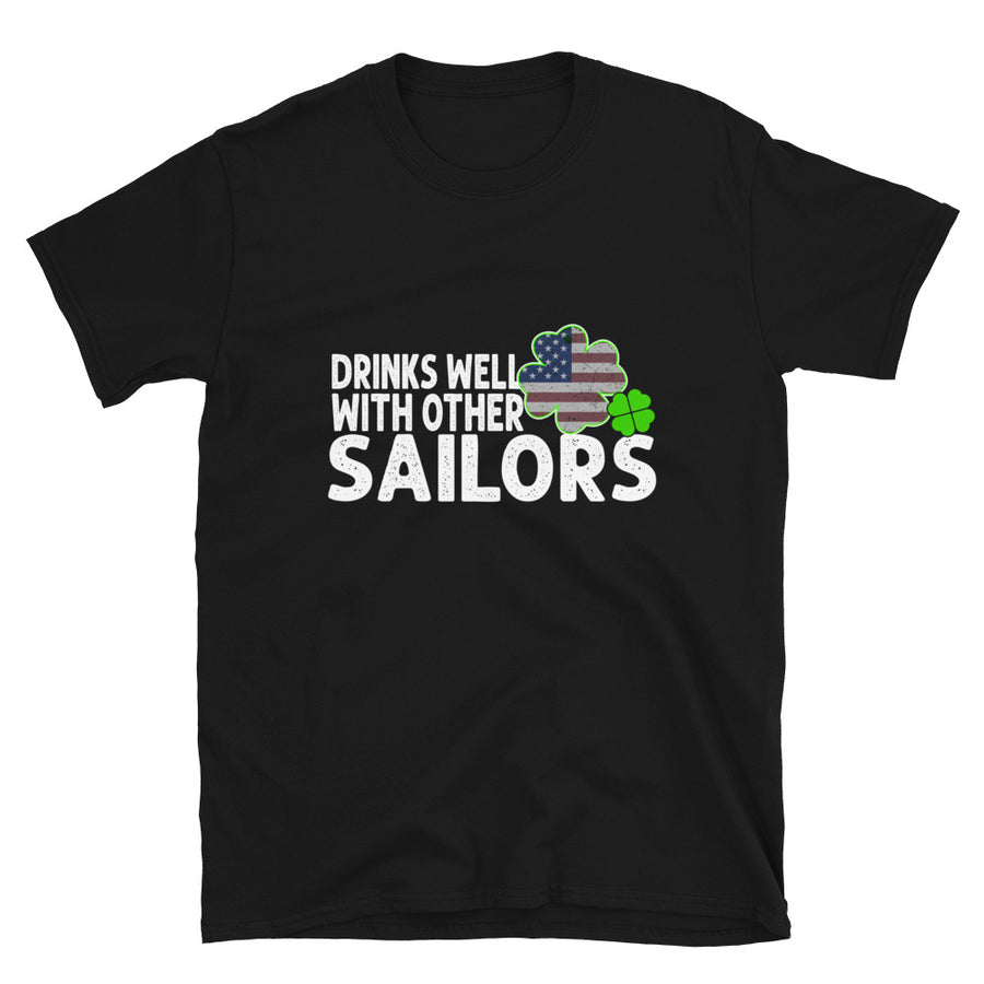 Drinks Well With Other Sailors - Bastard Graphics