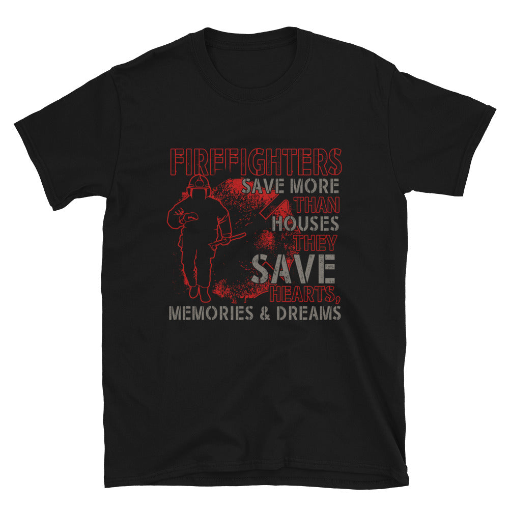 Firefighters Save More Than Houses, They Save Hearts, Memories & Dreams - Bastard Graphics