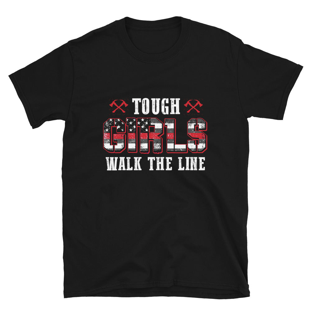 Tough Girls Walk The Line - Bastard Graphics