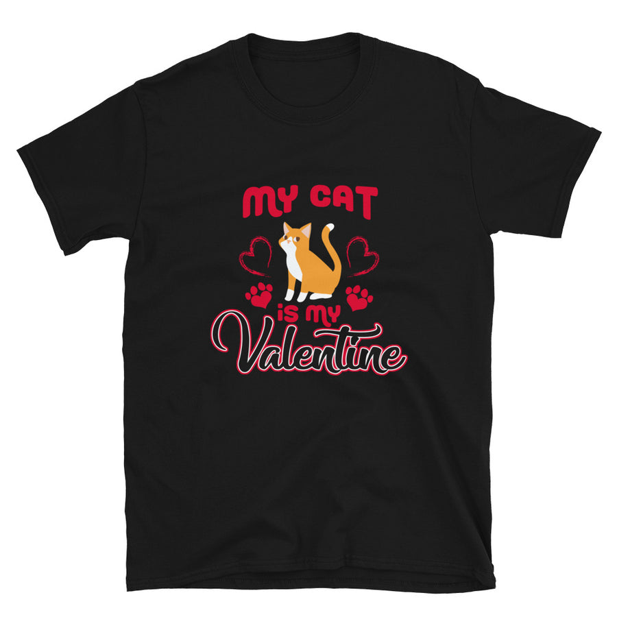 My Cat Is My Valentine - Bastard Graphics