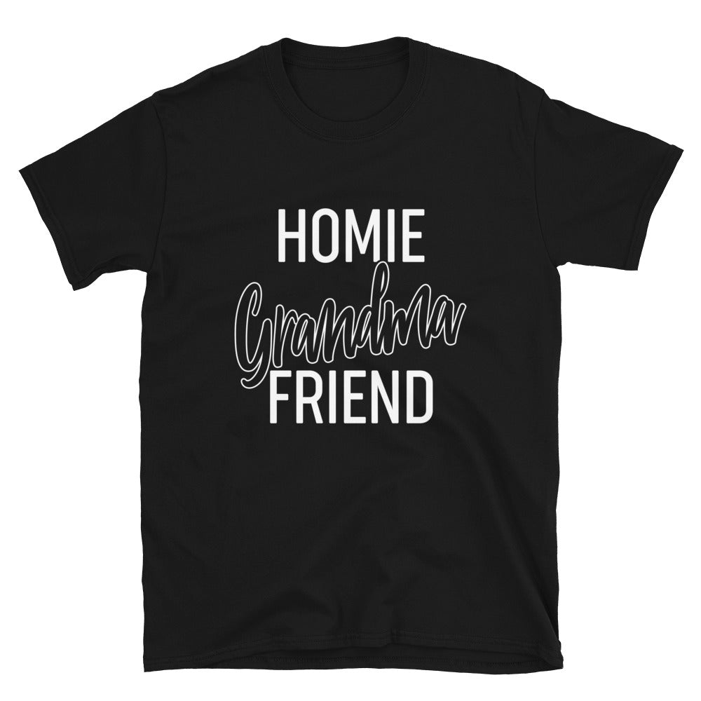 Homie Grandma Friend - Bastard Graphics