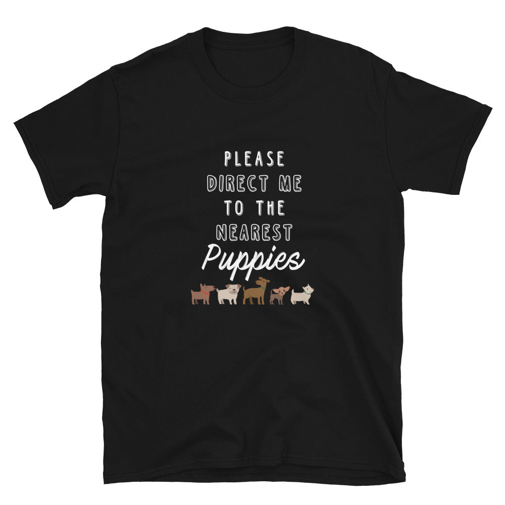 Please Direct Me To The Nearest Puppies - Bastard Graphics