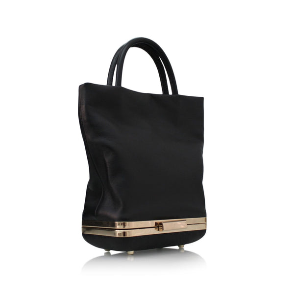 HULET - mini tote black