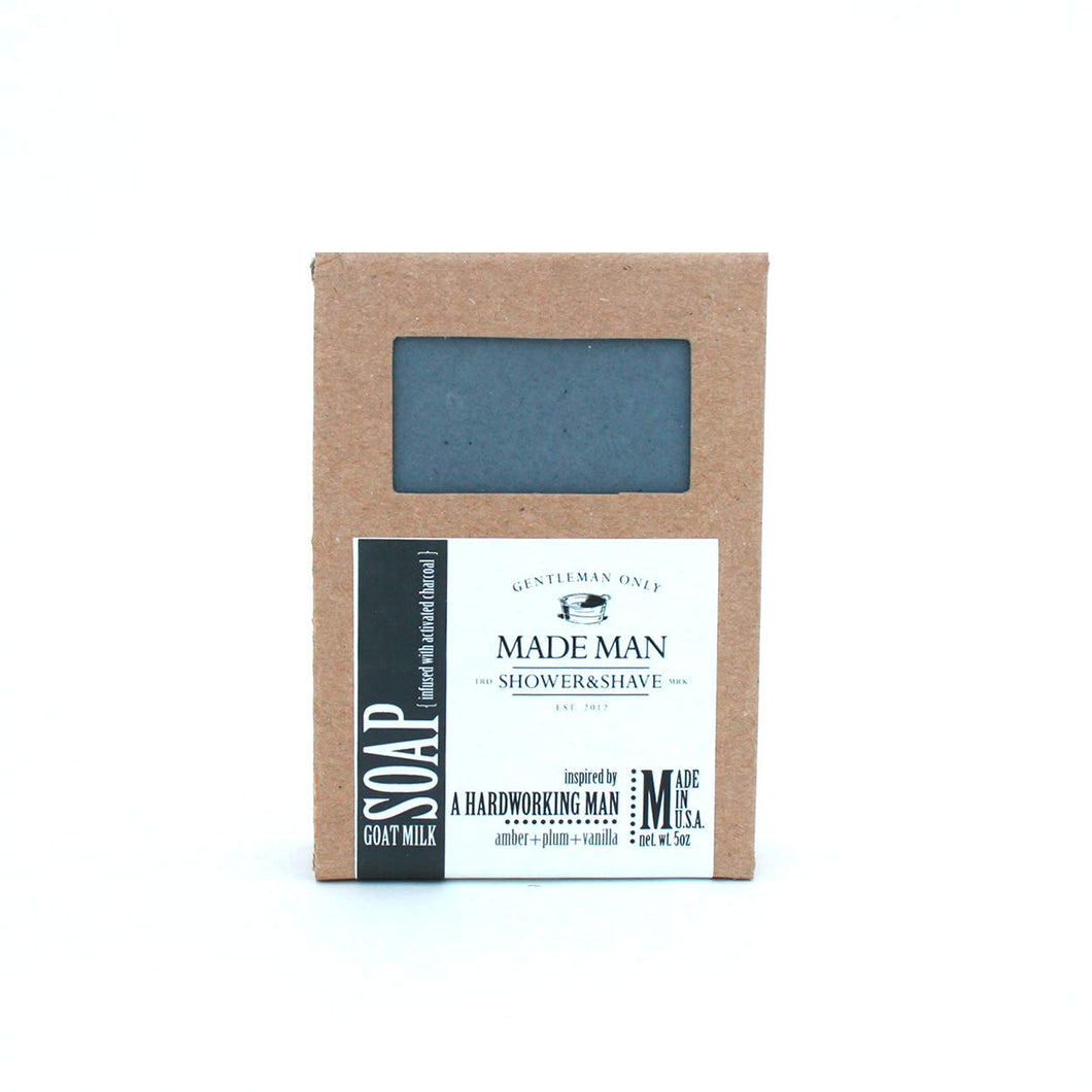 Made Man Handcrafted 'Manly' Bar Soaps ~ Hardworking Man