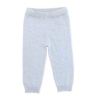 Viverano Sweater Knit Pants - Blue