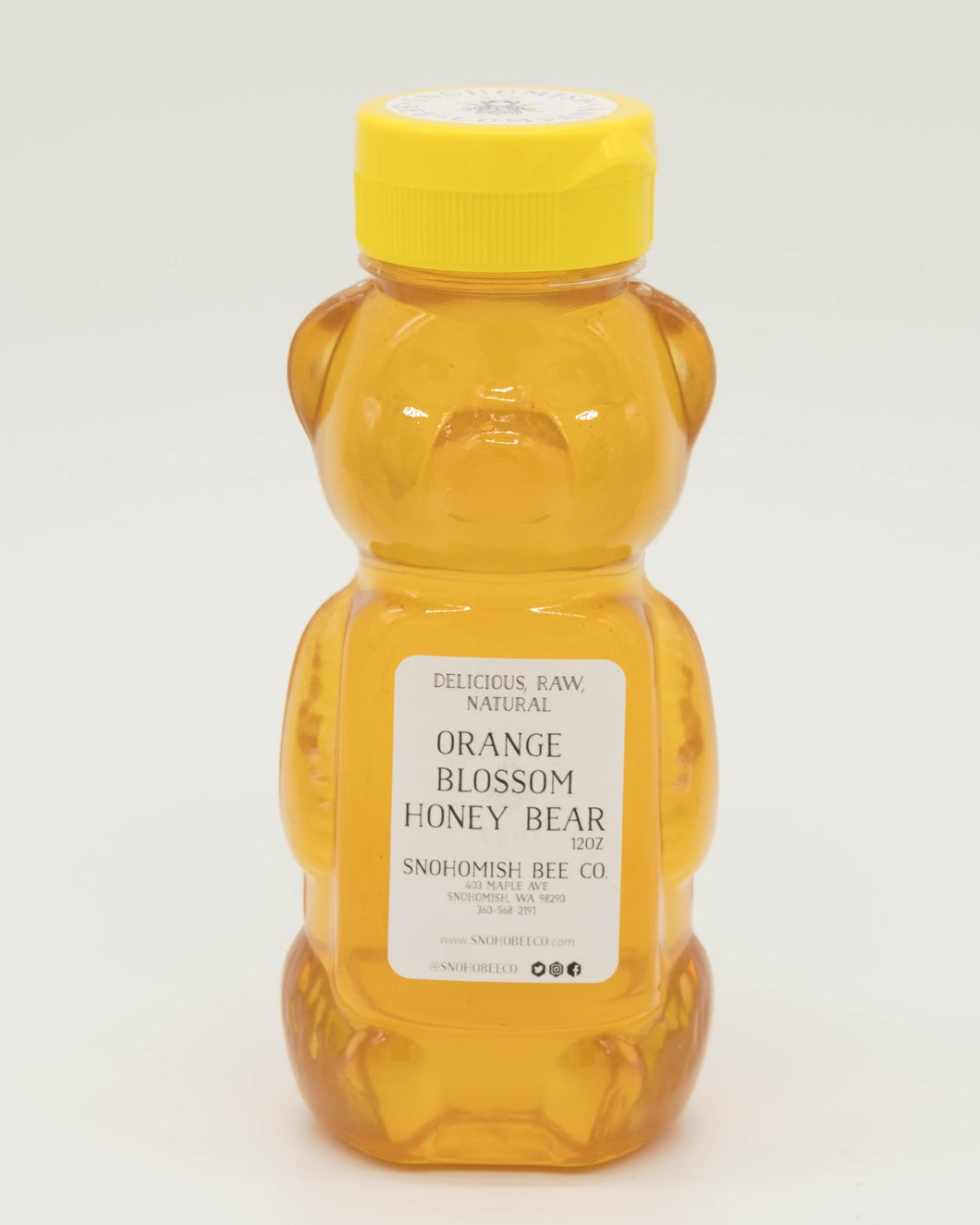 Snohomish Bee Company Orange Blossom Honey