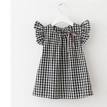 Load image into Gallery viewer, Gingham Ruffle Sleeve Tunic