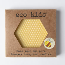 Load image into Gallery viewer, Eco-kids Beeswax Honeycomb Candle Kit