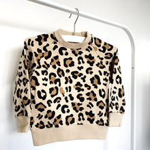 Load image into Gallery viewer, Animal Print Pullover Sweatshirt