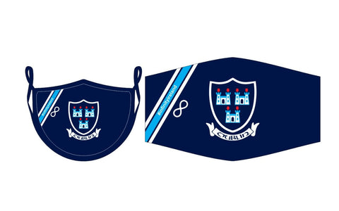 Dublin Gaa FaceMask High Quality interlock fabric double layered
