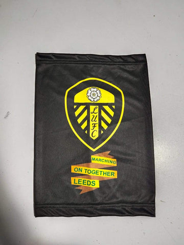 LEEDS UNITED Snoods Black Facecovers Scarf High Quality