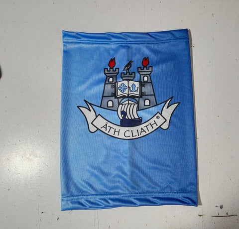 Dublin Gaa Snoods Facecovers Scarf High Quality Black