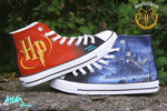 SHOES HARRY POTTER QUALITY CUSTOM MADE TRAINERS