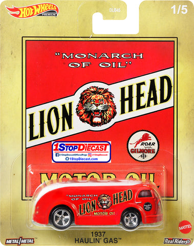 Hot Wheels Pop Culture 1937 Haulin Gas Lions Head Oil