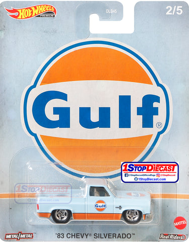 Hot Wheels Pop Culture 83 Chevy Silverado Gulf Oil