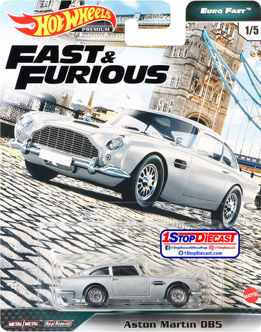 Hot Wheels Fast & Furious Euro Fast Aston Martin DB5