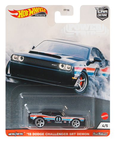 Hot Wheels Car Culture 2018 Dodge Challenger SRT Demon Mopar