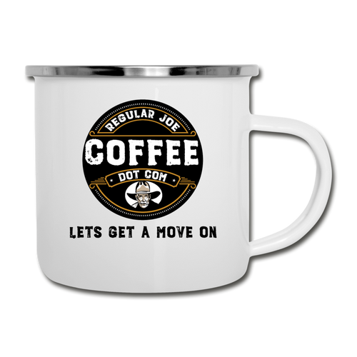 Lets Get a Move On Mug - white
