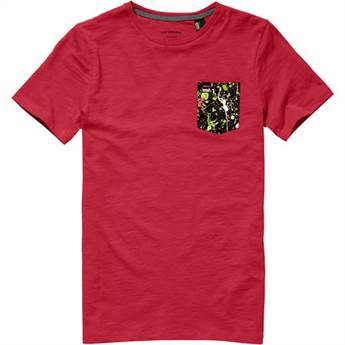 O'Neill Jacks Base Tee in Red