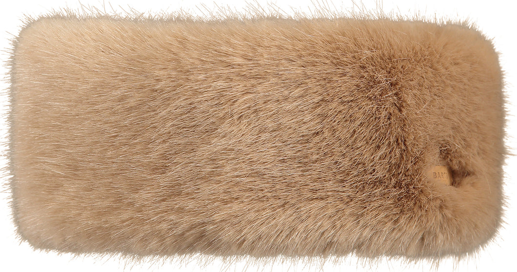 Barts Fur Headband in Light Brown