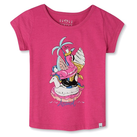 Animal Inflatables Tee in Pink