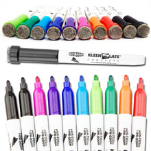 Load image into Gallery viewer, (10) Pack Multi-Color Dry Erase Markers with Eraser Caps