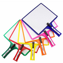 Load image into Gallery viewer, (24) Customizable Whiteboards with Dry Erase Sleeves