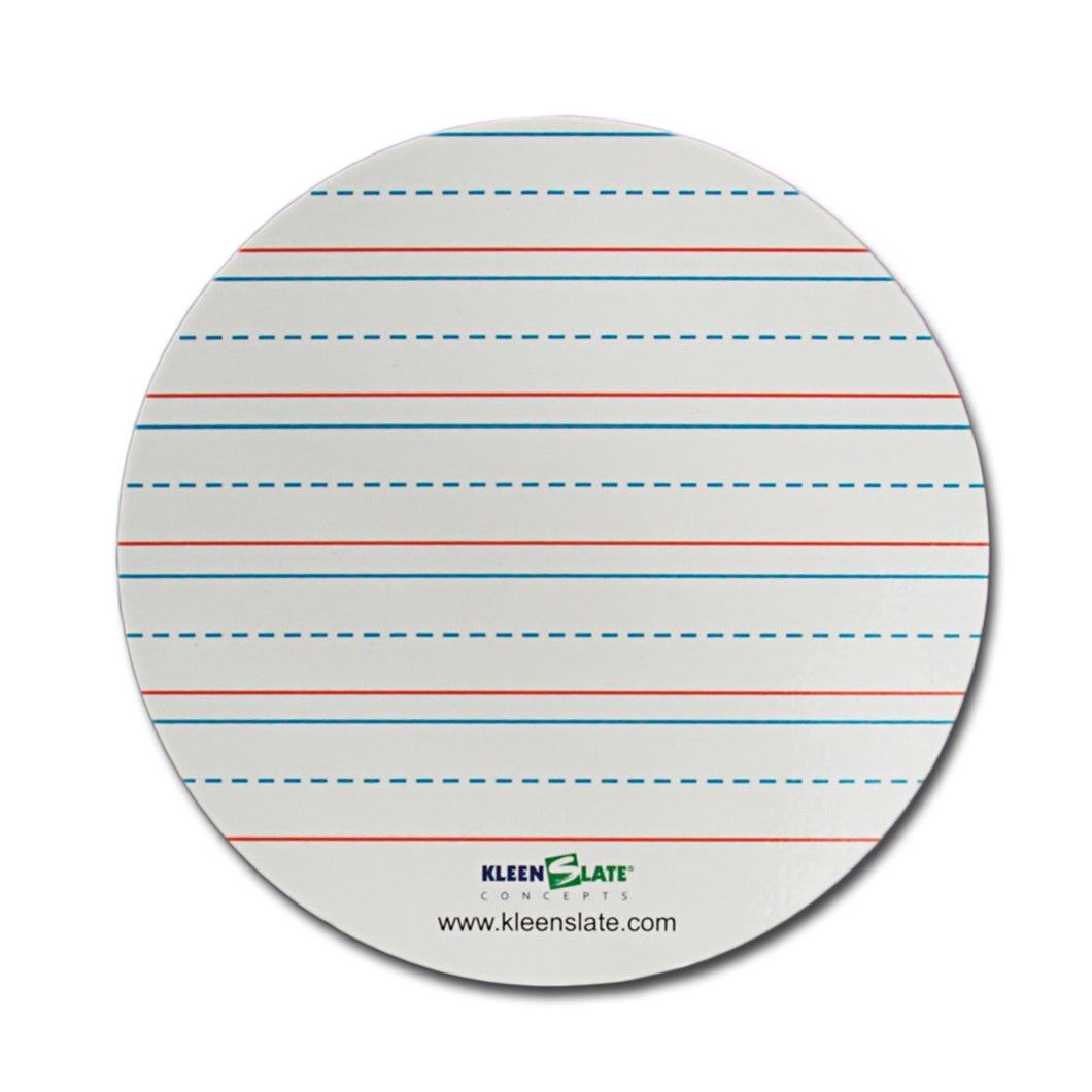 (8) Lined Round Replacement Sheets