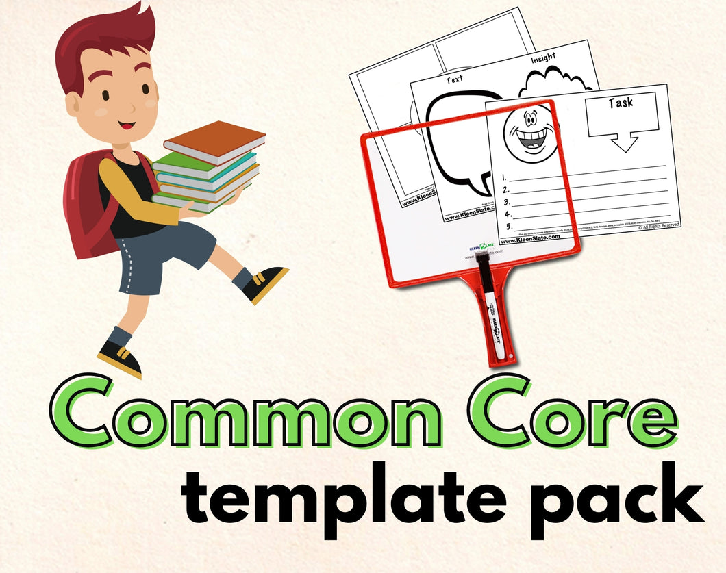 31 Common Core Templates